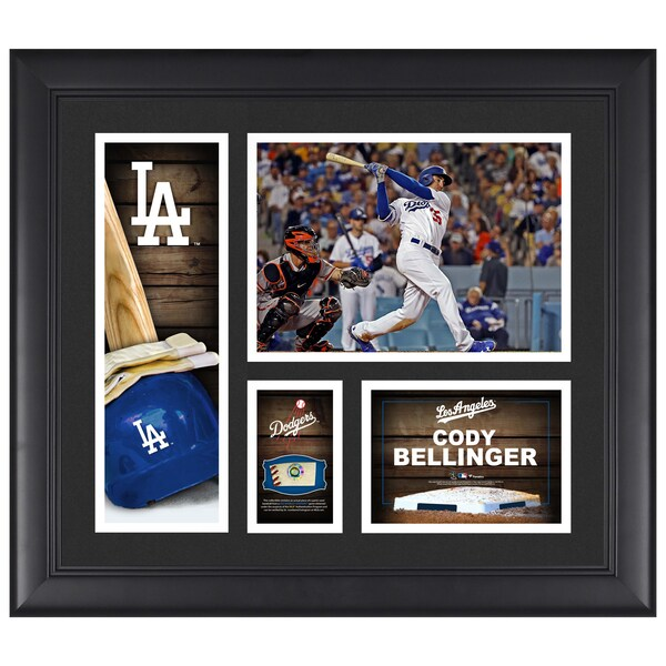 Los Angeles Dodgers Cody Bellinger Fanatics Auth nhl jersey sale canada